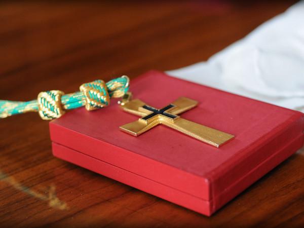 Pectoral cross of Bishop Wm. Michael Mulvey, STL, DD.